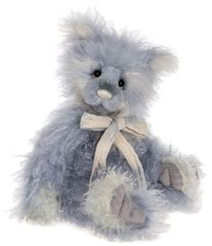 Heston is a 22 inch mohair bear from the Charlie Bears 2017 Isabelle Collection. 5 Way Jointed / Surface Wash with Care Not suitable for children under 14 years of age. Sold Out on Pre-Orders!