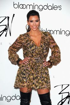 Kim Kardashian - Thigh High Boots Done Right!* <3