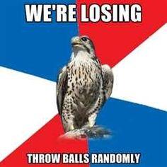 We're losing..