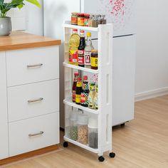 Rack Shelf, Storage Rack, Storage Shelves, Storage Spaces, Display Shelves, Storage Baskets, Storage Organization, Storage Ideas, Sliding Cabinet Shelves