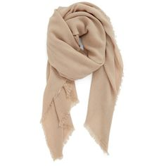 Women's Bp. Knit Scarf (74.640 COP) ❤ liked on Polyvore featuring accessories, scarves, tan, knit shawl, lightweight scarves and knit scarves