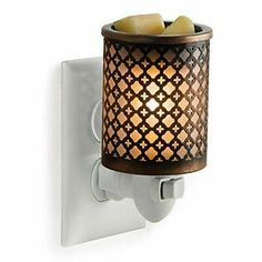 CANDLE WARMERS ETC Pluggable Fragrance Warmer- Decorative Plug-in for Warming... #candle #holders #accessories (ebay link) Scent Warmers, Wax Warmers, Candle Wax Warmer, Country Scents Candles, Diamond Candles, Aroma Beads, Home Fragrances, Wax Melts, Decoration