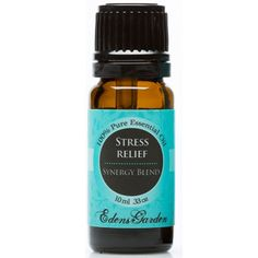 Stress relief is a balanced mixture of Bergamot, Blood Orange, Grapefruit, Patchouli and Ylang Ylang.   Be Inspired: Add 6-8 drops to a warm bath and give yourself permission to rest. Or cuddle up on the couch and rub a few drops on your wrists and feet. If there isn't time to slow down, try carrying it with you and gently inhale when stress starts to creep in.