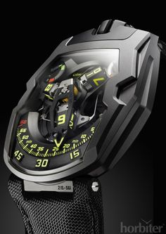 30 minutes off the wrist with the URWERK UR-210Y Black Hawk