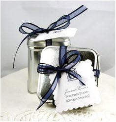 rooibos tea wedding favours