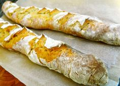 Baguettes (French bread stick)