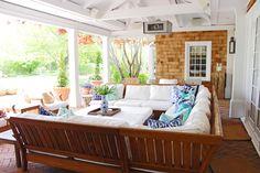 Hamptons outdoor patio
