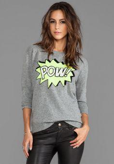 Autumn Cashmere - Pow Sweater