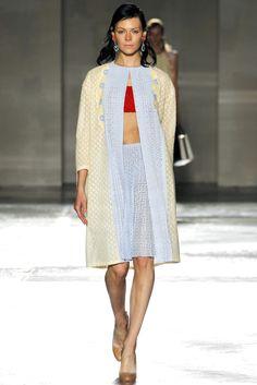 Prada Spring 2012 Ready-to-Wear Fashion Show - Kinga Rajzak
