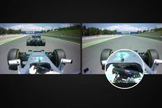【動画】 ニコ・ロズベルグとルイス・ハミルトンの車載カメラ / F1スペインGP  [F1 / Formula 1]