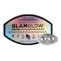 GlamGlow Eye Mud is a three-minute instant eye treatment. The tap-on-wipe-off eye product designed to work for Hollywood actors in just a few minutes, just before going in front of a camera.