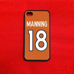Peyton Manning Iphone 4/4s 5 Case by DavidHughesCases on Etsy, $12.99