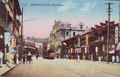 Nanking Road, Shanghai, 1920s
