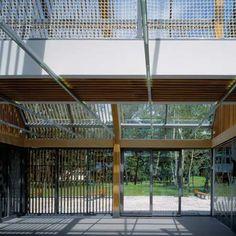 Admin building for Opole Rural Museum - Opole (Poland) Skansen - Muzeum Wsi Opolskiej w Bierkowicach / Opole (Poland)