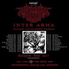Long Live The Loud 666: INTER ARMA REGARDE LES HOMMES TOMBER EUROPEAN TOUR...