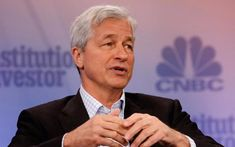 """Latest Cryptocurrency News - Jamie Dimon, CEO of JP Morgan who severely criticised Bitcoin is now showing openness towards cryptocurrencies.  """"I'm open-minded to uses of cryptocurrencies if properly controlled and regulated""""-says Jamie Dimon to CNBC  #Kry"""