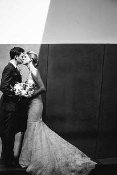 Black and White Bride and Groom Portrait Walker Art, Wedding Portraits, Getting Married, Real Weddings, Wedding Planner, Groom, Bride, Black And White, Wedding Dresses