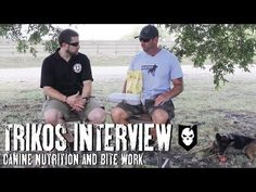 ▶ K-9 Nutrition: An Interview and Bite Work Demo with Mike Ritland and Rico - YouTube
