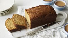 This light, easy-to-make ginger loaf cake has an extra layer of flavour thanks to the addition of orange marmalade and zest. Vegan Banana Bread, Easy Banana Bread, Banana Bread Recipes, Cake Recipes Bbc, Sponge Cake Recipes, Baking Recipes, Drink Recipes, Ginger Loaf Cake, Cake Tins