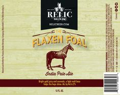 The Flaxen Foal - Relic Brewing