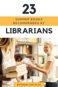 On the hunt for summer books? Check out these books recommended by librarians. #summerbooks #read #reading