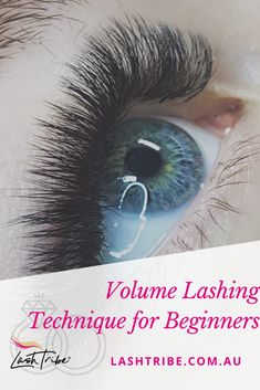 In this video, I want to show one of my favorite Beginners Techniques when it comes to Volume Lashing. Volume Lash Extensions, Eyelash Extensions Styles, Mascara Quotes, Eyelash Extension Course, Russian Lashes, Lash Room, Volume Lashes, Skin Care Tips, Eyelashes