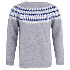 Grey Knitted Jumper │Il Gufo
