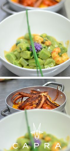 Besides pristine Mediterranean cuisine, we also enjoy preparing homemade pasta and gnocchi. Capra: The New Good Times
