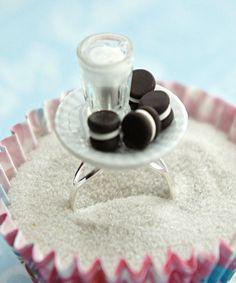 Polymer Clay Animals, Cute Polymer Clay, Cute Clay, Polymer Clay Miniatures, Polymer Clay Charms, Diy Clay, Clay Crafts, Miniature Crafts, Miniature Food
