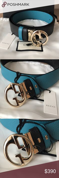 b60da887e67 Authentic Gucci Reversible belt Size 90-36 New with tags and comes with  dust bag