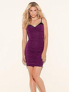 Guess-purple dress