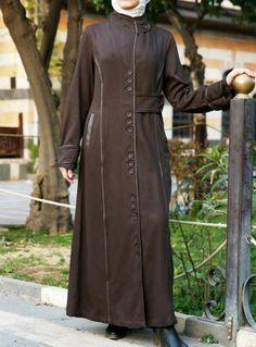 Trench jilbab
