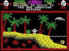 Treasure Island Dizzy - ZX Spectrum (1988)