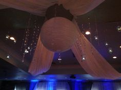 Ceiling decor by Grbic events