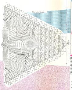 Kira scheme crochet: Scheme crochet no. 1491