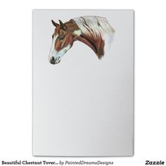 Beautiful Chestnut Tovero Paint Horse Post-it® Notes