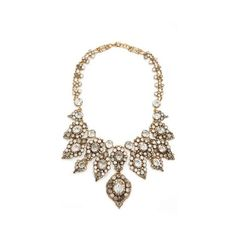 Erickson Beamon Hello Sweetie Necklace ($1,420) ❤ liked on Polyvore featuring jewelry, necklaces, filthy gold, 24-karat gold jewelry, bib necklace, swarovski crystal necklace, bib jewelry and erickson beamon jewelry