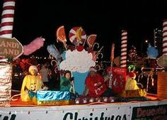 Christmas lights parade
