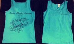 Large Mouth Hookers Ladies Tank Top