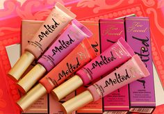 Quick Peek at the New Melted Liquified Long Wear Lipsticks by Too Faced Cosmetics