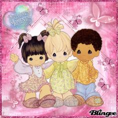 Precious Moments Friends Picture #118124248 | Blingee.com