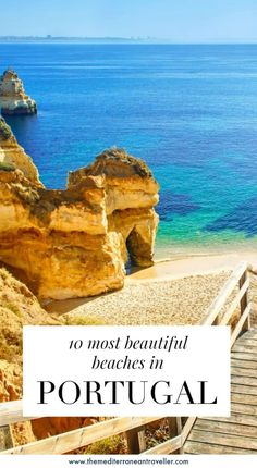 10 Most Beautiful Beaches in Portugal. It has mile after mile of truly epic beach scenery, but which are the best beaches in Portugal? Here are 10 worthy of consideration. of its most beautiful beaches to get you started, from the top spots of the Algarve to wilder shores and surf of the Atlantic coast. #portugal #beach #europe #travel #tmtb
