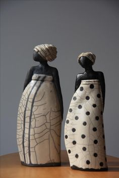 African Ceramics – Arte – … – Famous Last Words Raku Pottery, Pottery Sculpture, Slab Pottery, Sculpture Clay, Pottery Art, African American Figurines, Ceramic Sculpture Figurative, Cerámica Ideas, Pottery Animals