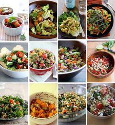 15 delicious gluten free #salads. #healthy