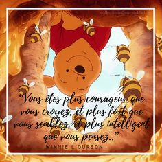 Winne l'ourson I love it ! Disney Films, Disney And Dreamworks, Disney Pixar, Walt Disney, Citations Disney, Citations Film, Wordpress Theme, Quote Citation, Pretty Quotes