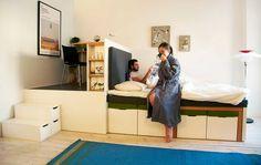 Matroshka Multi Functional Furniture for Small Homes