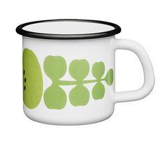 Arabia Hackman Kesä Enamel Mug New | eBay