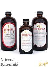 Bittermilk Mixers