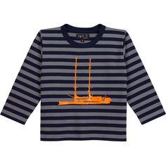 kid winter 2015-16 - t-shirt Tara enfant goléand/marine #agnesb #agnesbenfant #taraoceans