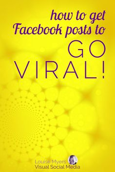 Facebook marketing tips: To boost your Fan Page engagement and followers, go viral! CLICK to find the most viral content on FB, and how to make it. I boosted my Facebook followers by 60% in 4 days with a viral quote graphic – this works! #FacebookMarketing #FacebookTips #VisualMarketing #Viral #SocialMediaMarketing #smm Social Media Marketing Courses, Facebook Marketing Strategy, Social Media Tips, Marketing Strategies, Business Marketing, Content Marketing, Business Tips, How To Use Facebook, For Facebook